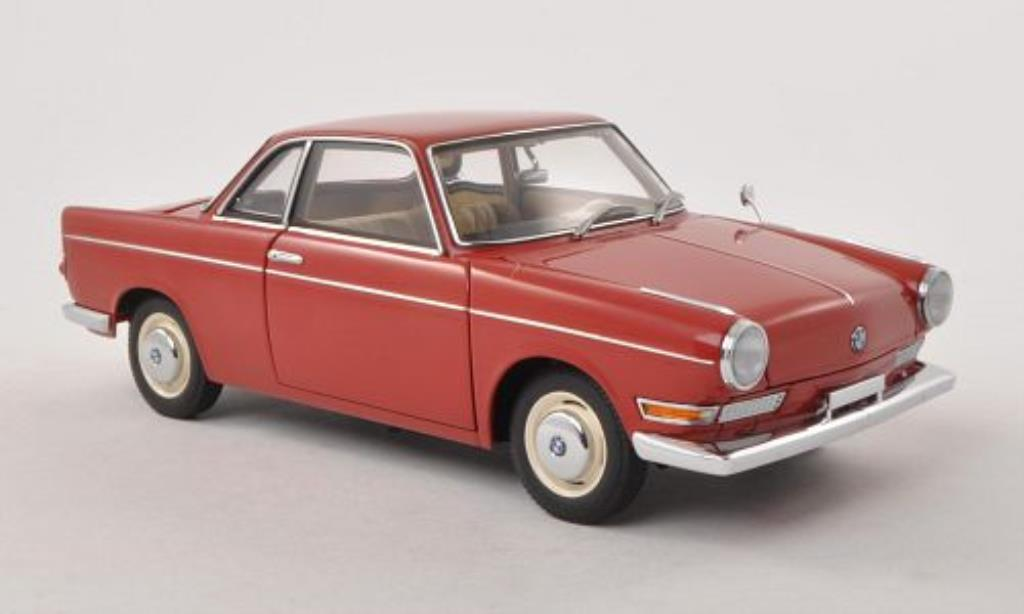 Bmw 700 1/18 Autoart Sport Coupe rouge miniature