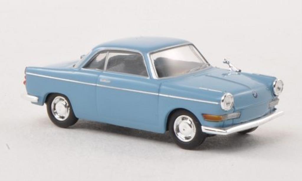 Bmw 700 1/87 Herpa Sport grise-bleu miniature