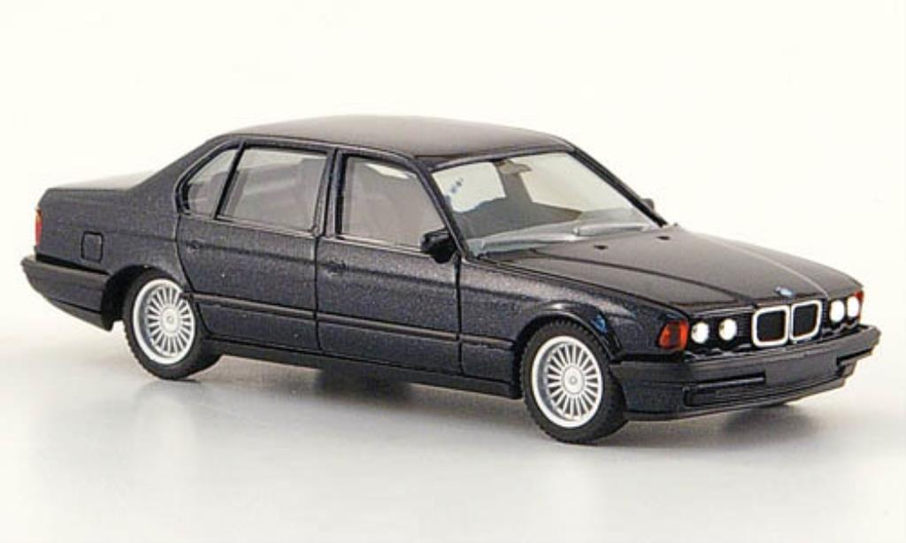 Bmw 750 F02 1/87 Herpa iL nero High-Tech modellino in miniatura