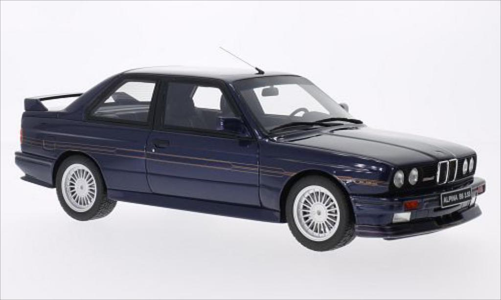 Bmw Alpina B6 1/18 Ottomobile B6 3.5S (E30) metallise bleu miniature