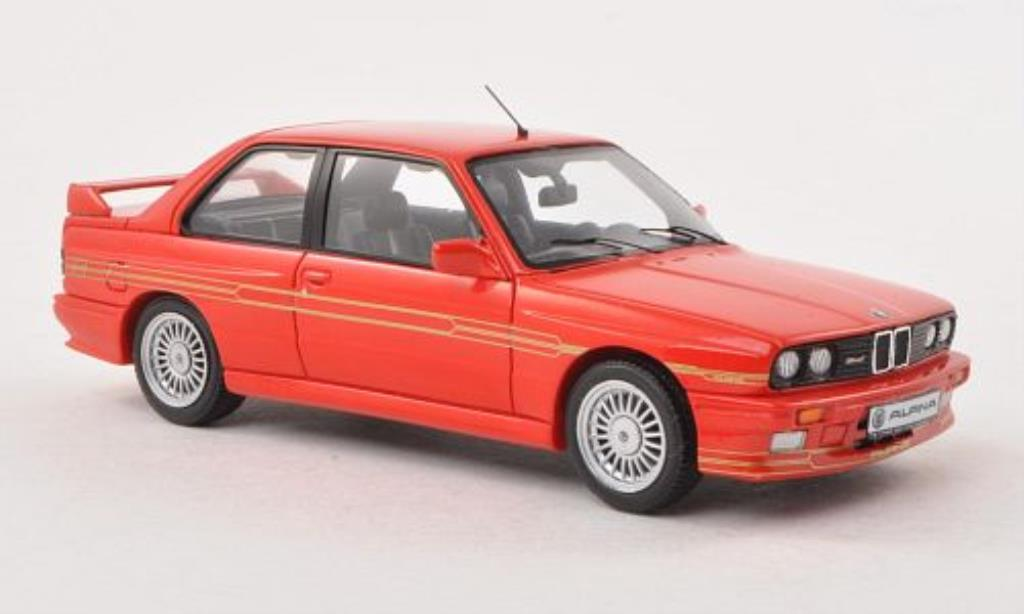 Bmw Alpina B6 1/43 Spark 3.5S (E30) rouge miniature