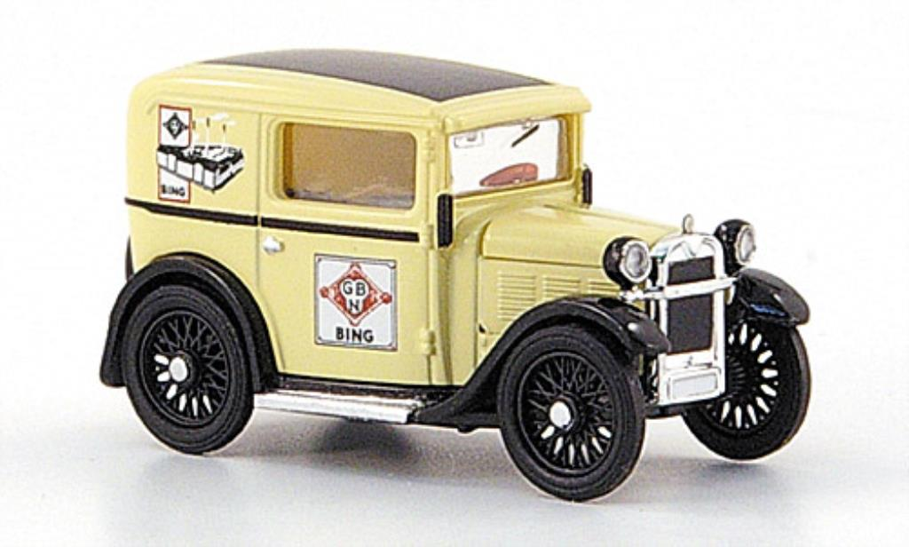 Bmw Dixi 1/87 Brekina Lieferwagen beige Bing TD Collection miniatura