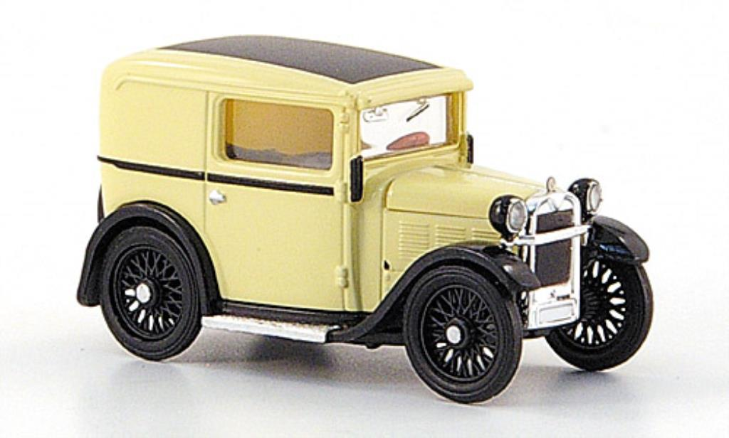 Bmw Dixi 1/87 Brekina Lieferwagen beige TD Collection miniature