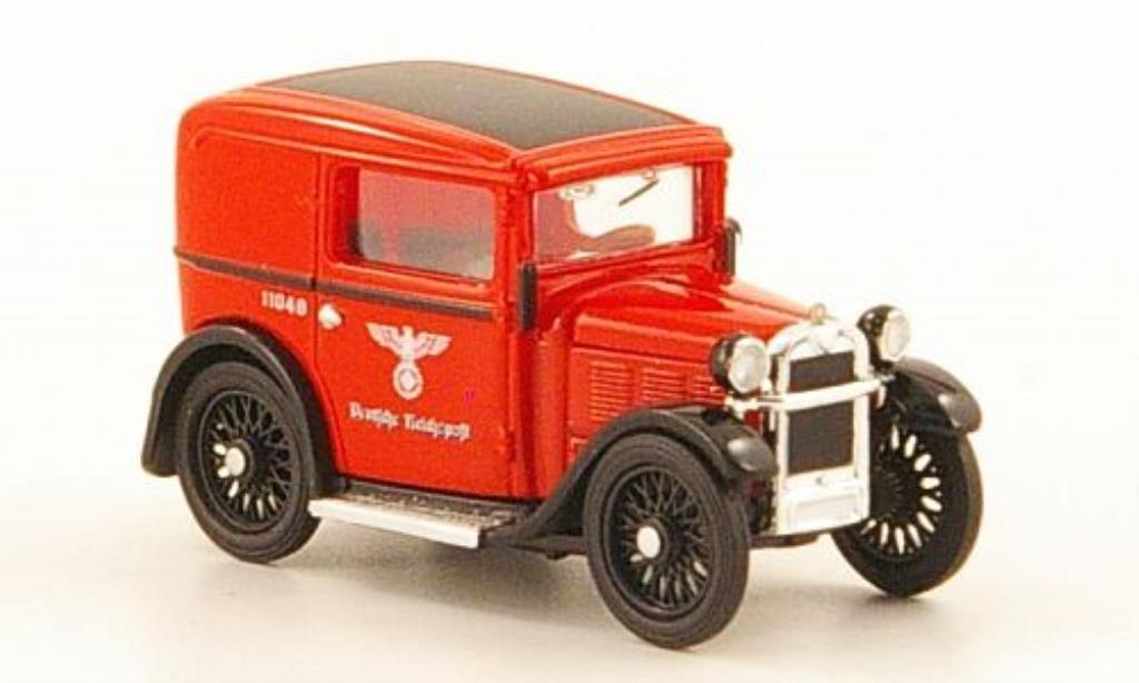 Bmw Dixi 1/87 Brekina Lieferwagen Deutsche Reichspost diecast