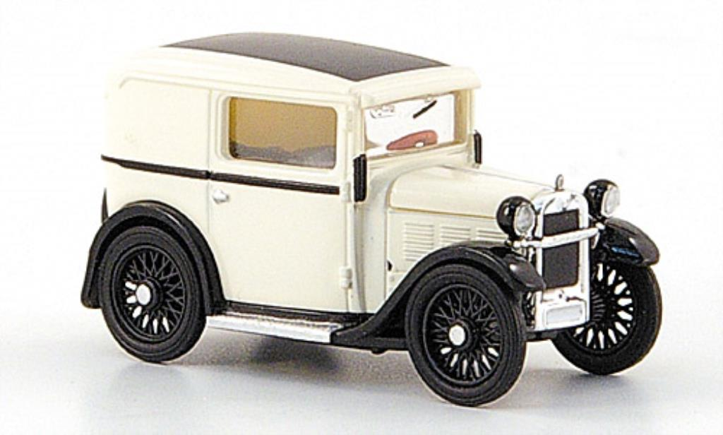 Bmw Dixi 1/87 Brekina Lieferwagen blanche TD Collection miniature