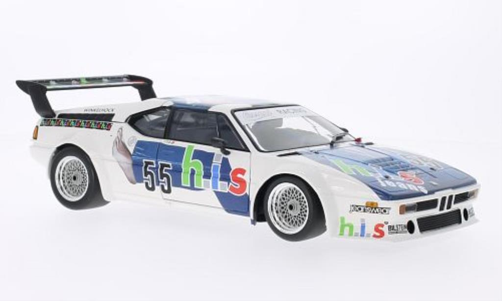 Bmw M1 1980 1/18 Minichamps No.55 Cassani Racing Team Procar Series 1980 miniature