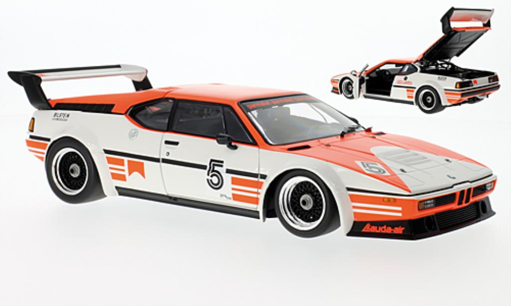 Bmw M1 1979 1/18 Minichamps Procar (E26) No.5 Project Four Racing Procar Serie 1979 miniatura