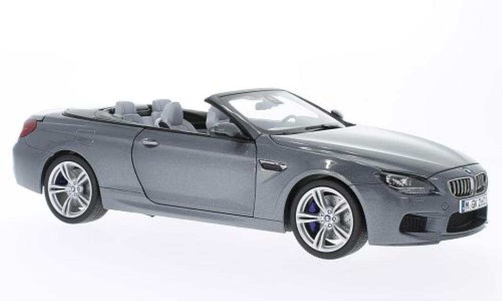 Bmw M6 F12 1/18 Paragon grey diecast model cars