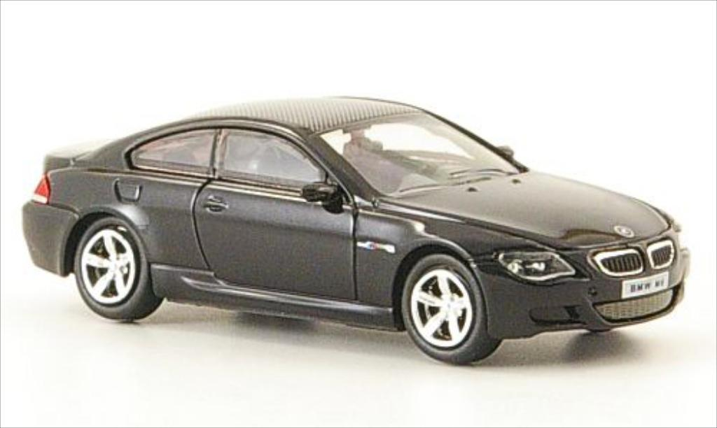 Bmw M6 E63 1/87 Ricko black 2006 diecast model cars