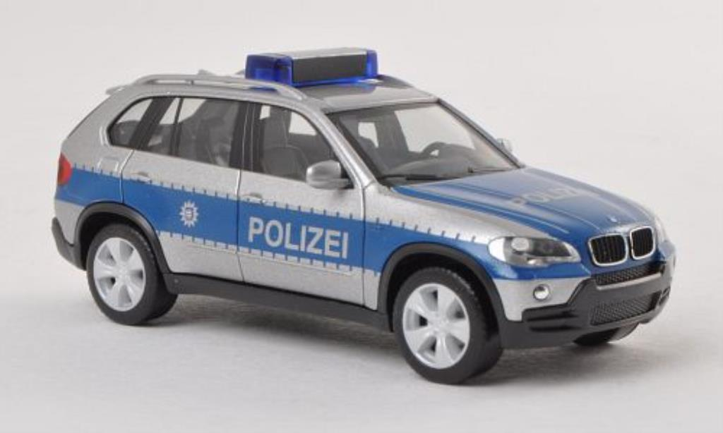 Bmw X5 E70 1/87 Herpa Polizei Thuringen miniature
