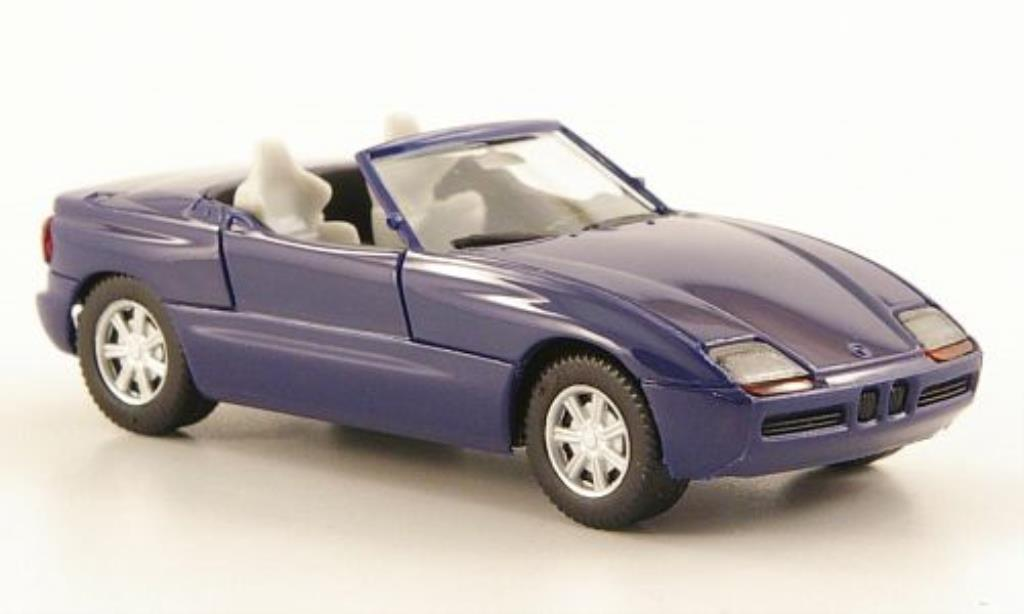 Bmw Z1 1/87 Herpa Roadster bleu miniature