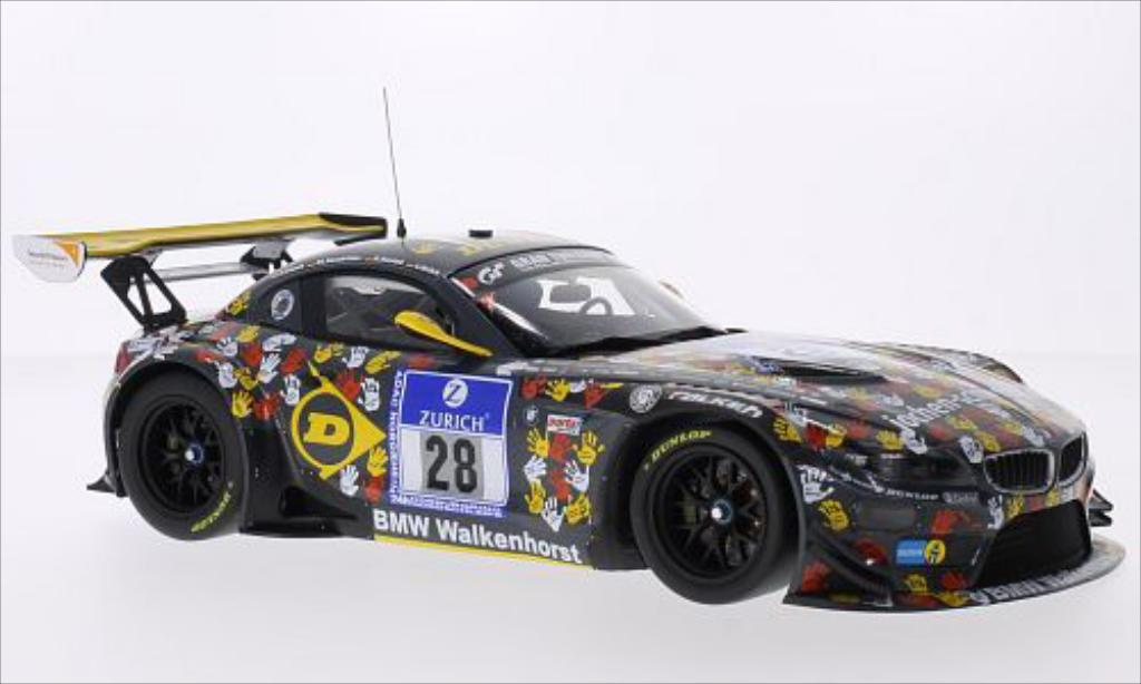 Bmw Z4 E89 1/18 Minichamps GT3 No.28 BMW Team Walkenhorst Dunlop 24h Nurburgring 2014 /D.Rostek miniature