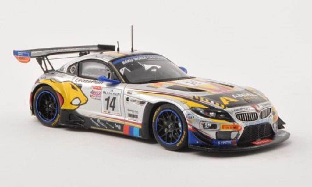 Bmw Z4 E89 1/43 Spark GT3 No.14 Marc VDS Racing Team 24h Spa 2013 /D.Muller miniature