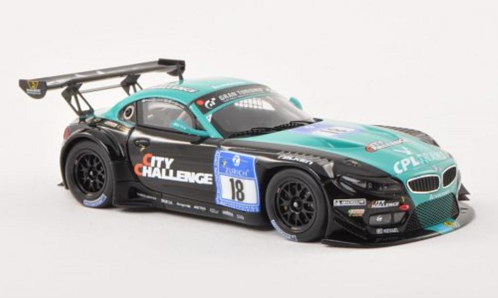 Bmw Z4 E89 1/43 Minichamps GT3 No.18Vita4-one Racing Team ADAC 24h Nurburgring 2012 /Wittmann