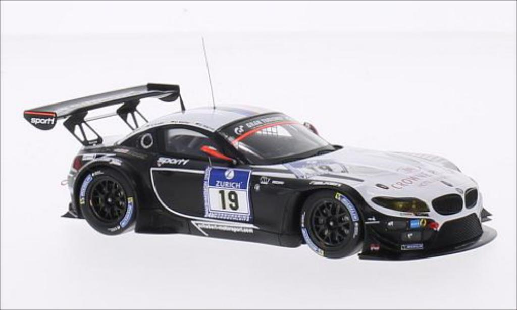 Bmw Z4 E89 1/43 Minichamps GT3 No.19 BMW Sports Trophy Team Schubert Crowne Plaza 24h Nurburgring 2014 /A.Sims miniatura