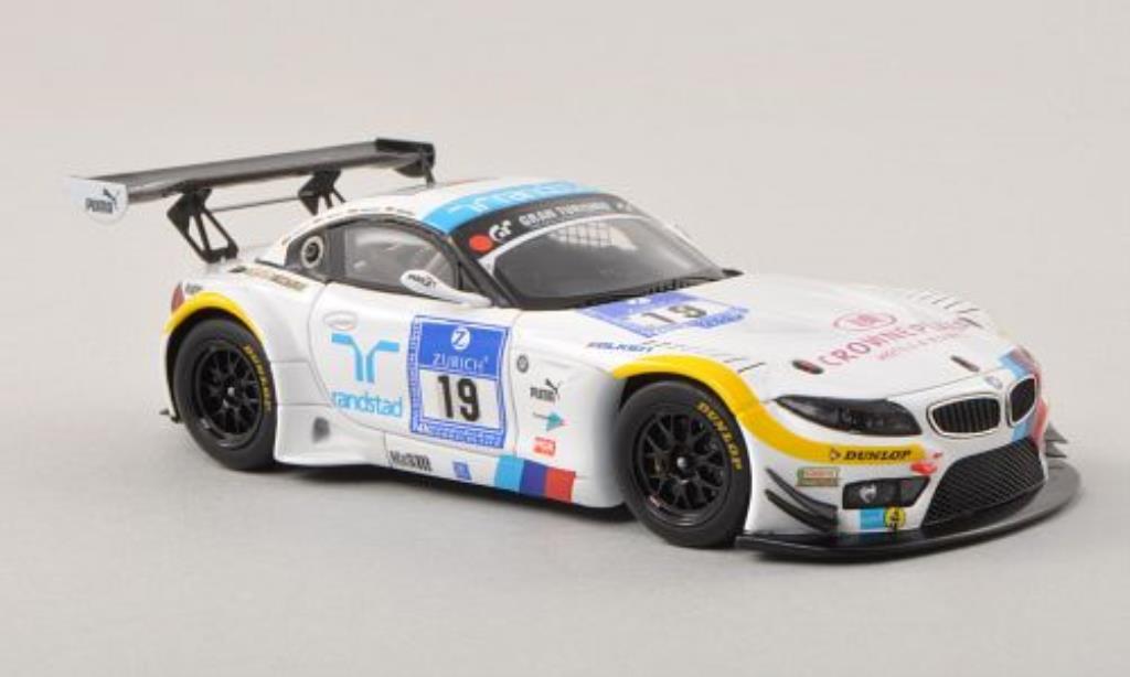 Bmw Z4 E89 1/43 Minichamps GT3 No.19 Team Schubert ADAC 24h Nurburgring 2012 /D.Adorf diecast model cars