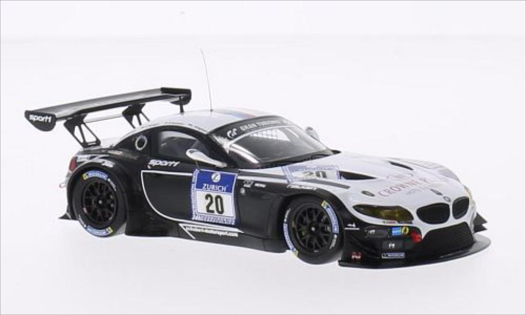Bmw Z4 E89 1/43 Minichamps GT3 No.20 BMW Sports Trophy Team Schubert 24h Nurburgring 2014 /M.Tomczyk miniature