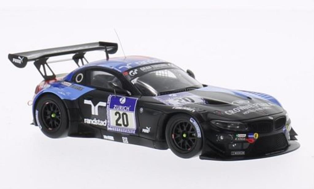 Bmw Z4 E89 1/43 Minichamps GT3 No.20 Team Schubert 24h Nurburgring 2013 /Hurtgen miniature