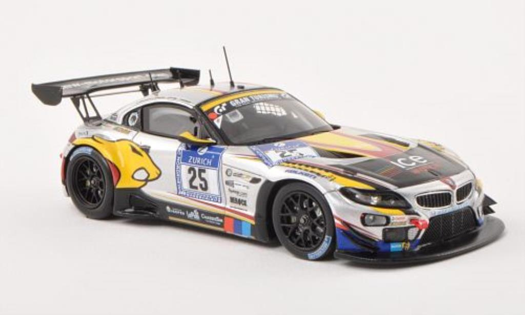 Bmw Z4 E89 1/43 Spark GT3 No.25 Sports Trophy Team Marc VDS 24h Nurburgring 2013 /R.Goransson miniature