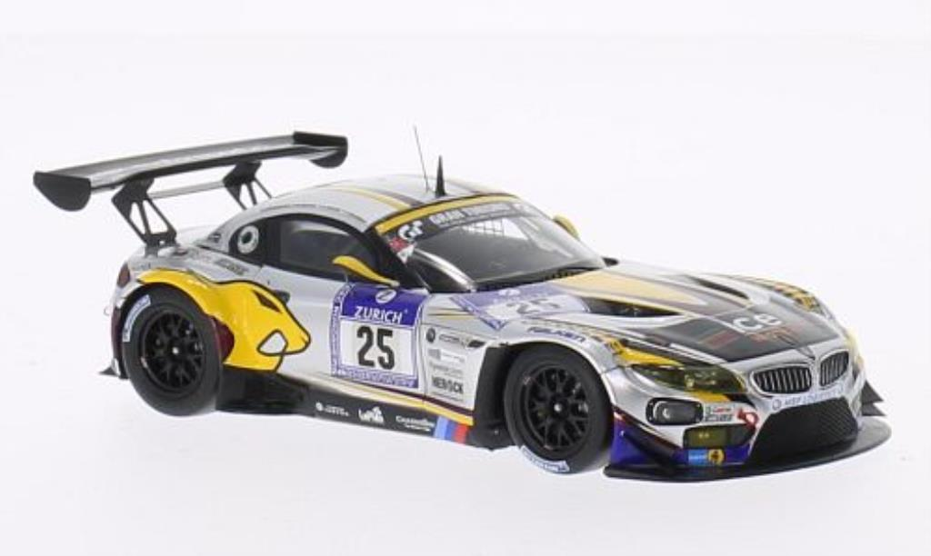 Bmw Z4 E89 1/43 Minichamps GT3 No.25 Team Marc VDS 24h Nurburgring 2013 /Goransson miniature