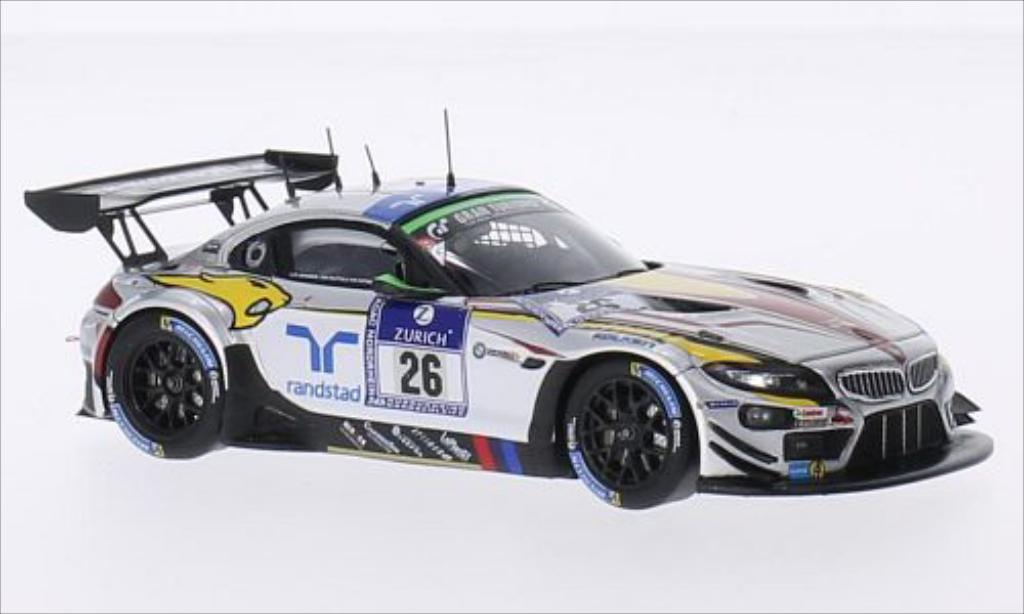 Bmw Z4 E89 1/43 Spark GT3 No.26 Sports Trophy Team Marc VDS 24h Nurburgring 2014 /D.Adorf miniature