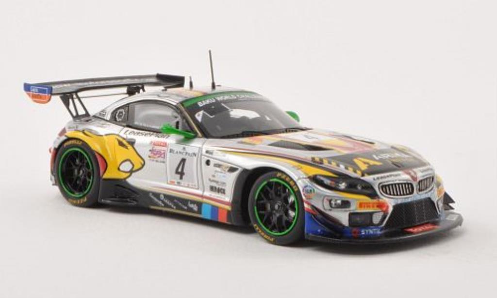 Bmw Z4 E89 1/43 Spark GT3 No.4 Marc VDS Racing Team 24h Spa 2013 /N.Catsburg
