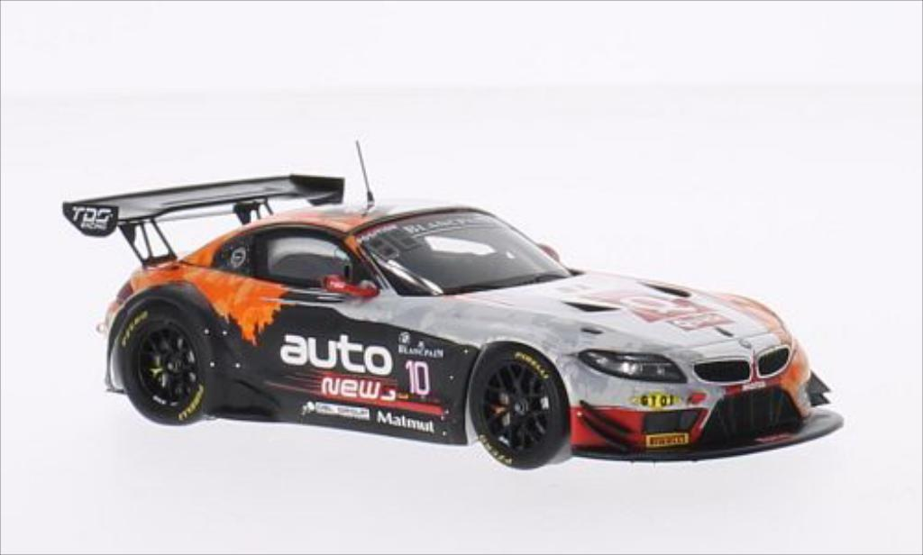 Bmw Z4 E89 1/43 Spark No.10 TDS Racing 24h Spa 2014 /O.Pla miniature