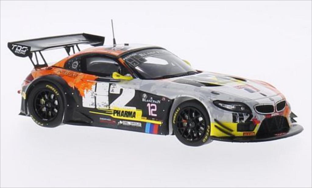 Bmw Z4 E89 1/43 Spark No.12 TDS Racing 24h Spa 2014 /P.Thiriet diecast