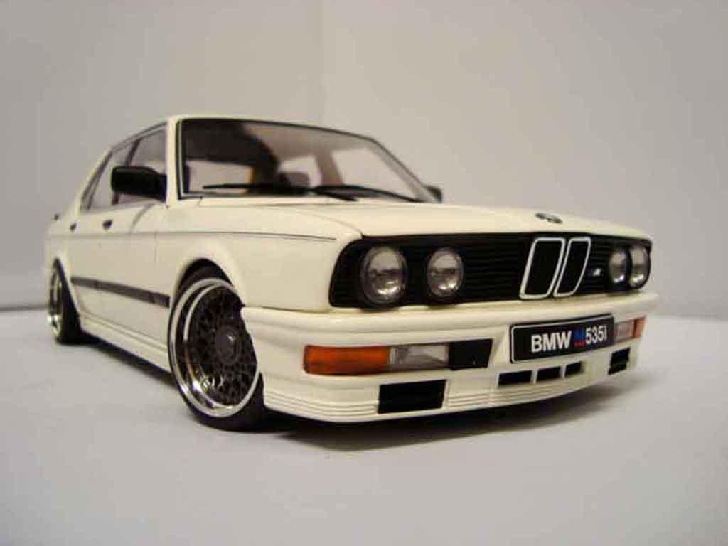 Bmw 535 M 1/18 Autoart i 1985 jantes bbs diecast model cars