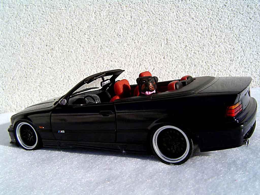 Bmw M3 E36 cabriolet 1/18 Ut Models jantes bbs diecast model cars