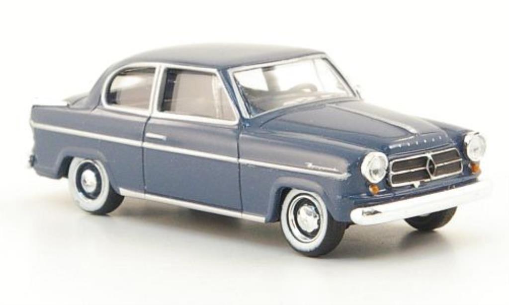Borgward Isabella 1/87 Herpa bleu-grise 1954 miniature