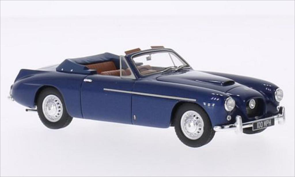 Bristol 405 1/43 Matrix DHC Abbot metallic-bleu miniature