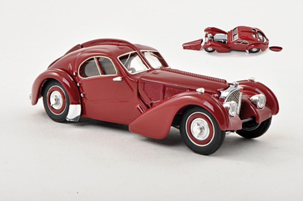 Bugatti 57 SC 1/43 Rio SC Atlantic rouge 1938 miniature