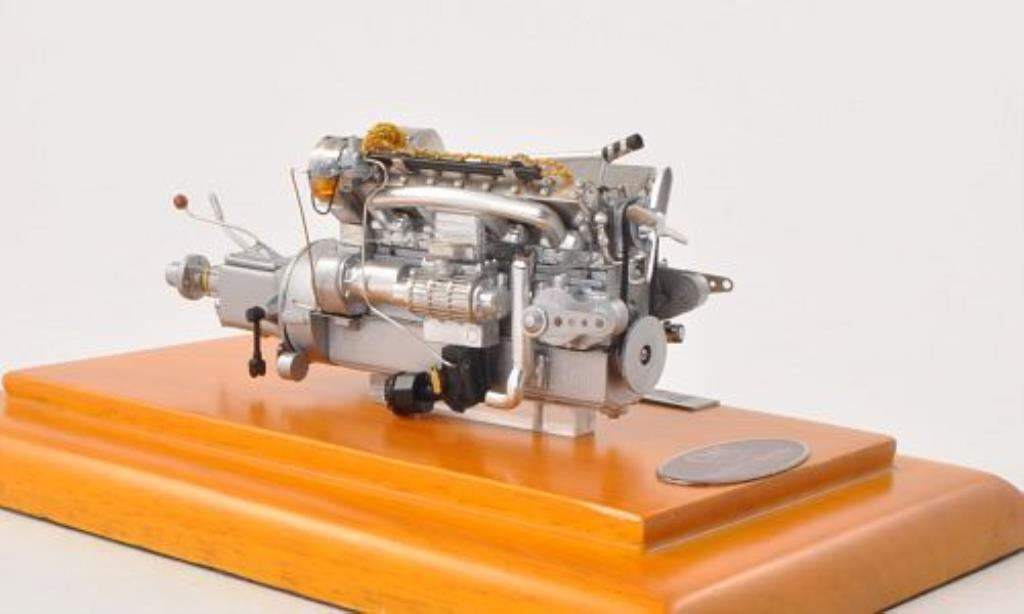 Bugatti 57 SC 1/18 CMC SC Motor-Aggregat 1938 miniature