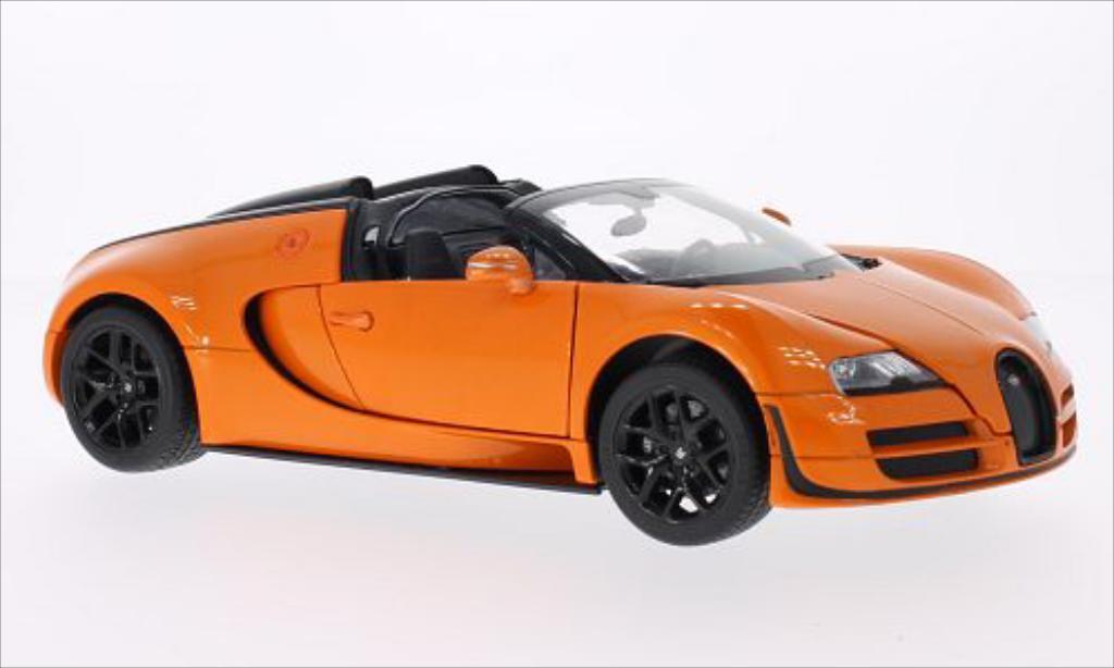 Bugatti Veyron 16.4 1/18 Rastar Grand Sport Vitesse orange