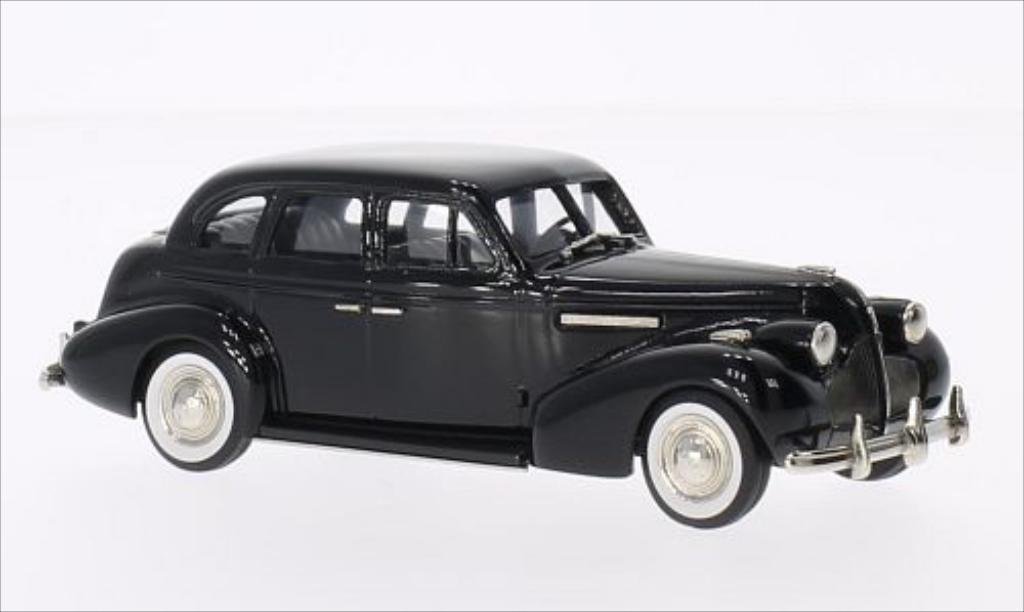 Buick Century 1/43 Brooklin 4-door Sedan M-61 noire 1939 miniature