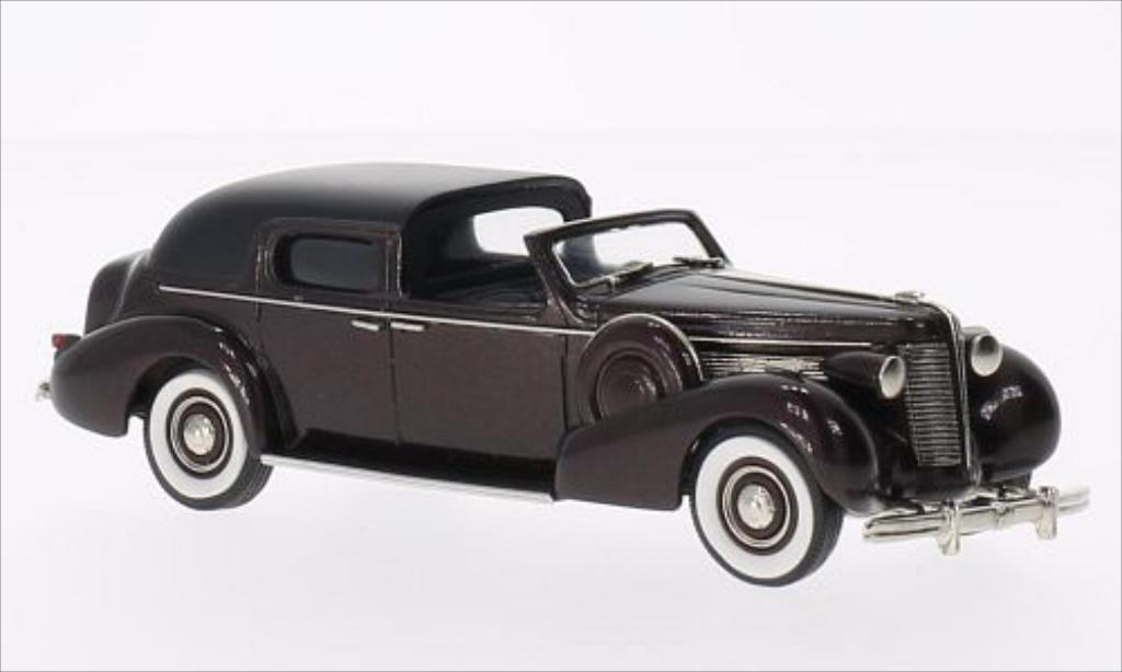 Buick Limited 1/43 Brooklin Town Car by Derham metallise marron/noire 1938 miniature