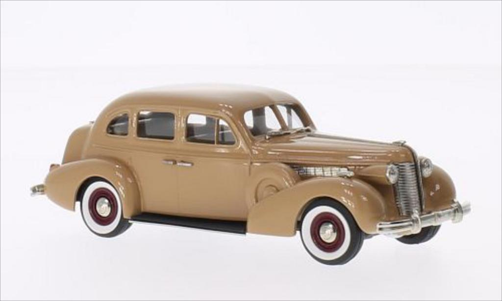 Buick Special 1/43 Brooklin 4-door Touring Sedan marron 1938 miniature