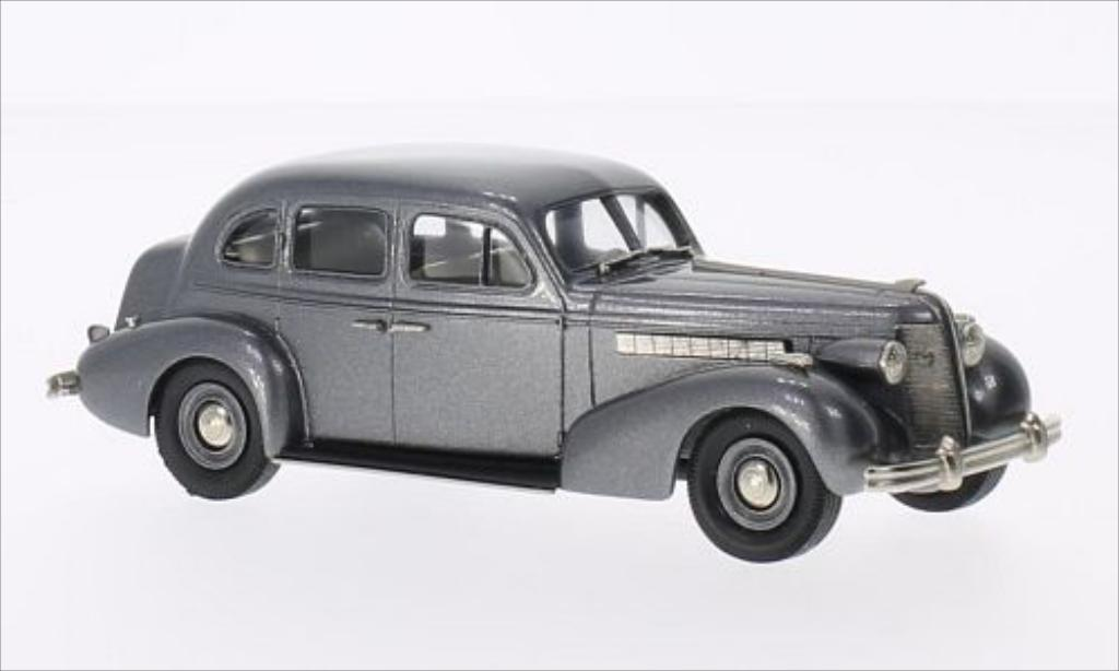 Buick Special 1/43 Brooklin 4-door Touring Sedan metallise grise 1937 miniature
