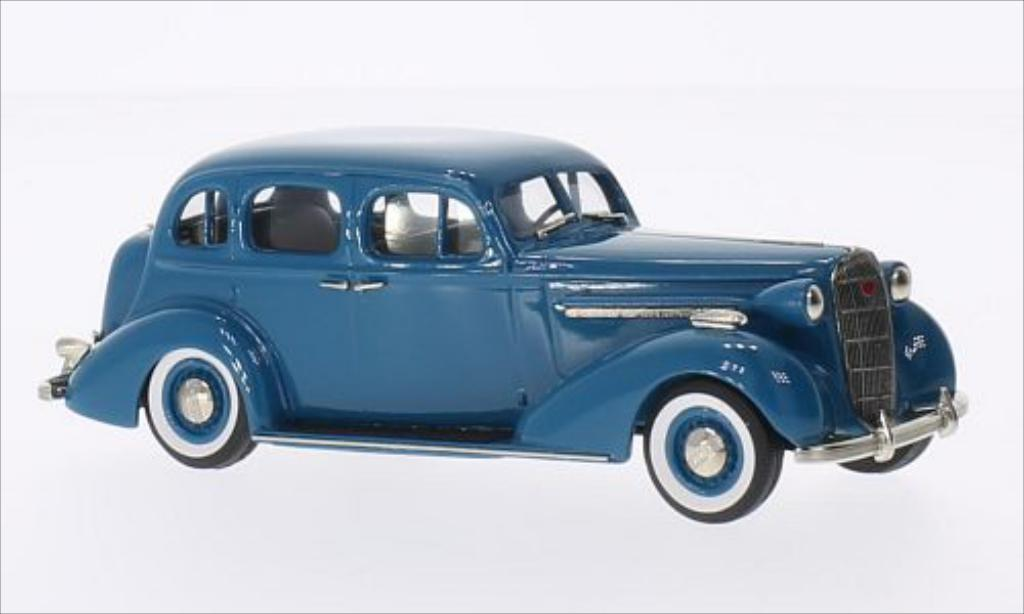 Buick Special 1/43 Brooklin 4-door Trunk Sedan M-41 bleu 1936 miniature