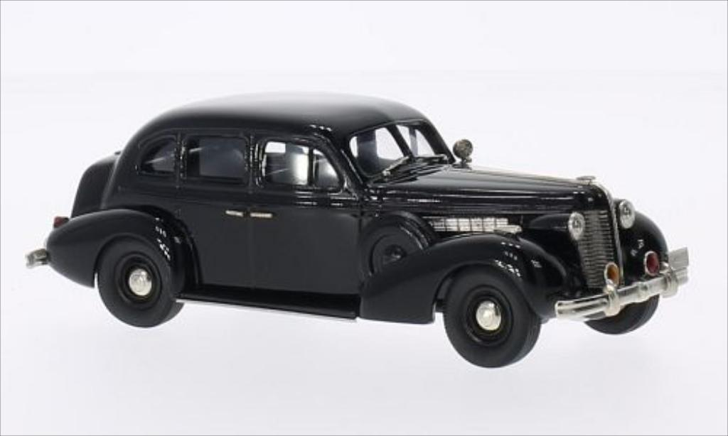 Buick Special 1/43 Brooklin New Mexico Police noire 1938 miniature