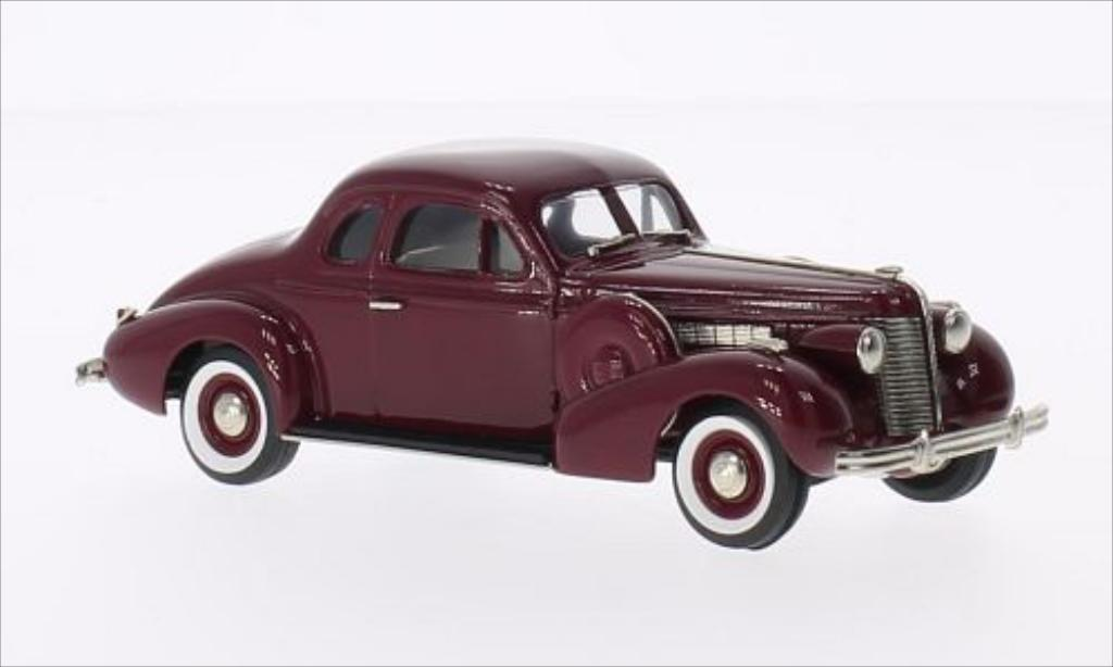 Buick Special 1/43 Brooklin Sport Coupe M-46S rouge 1938 miniature