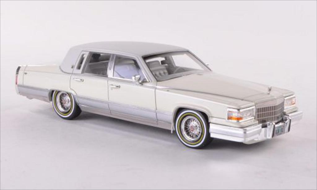 Cadillac Brougham 1/43 GLM beige/matt-blanche 1991 miniature