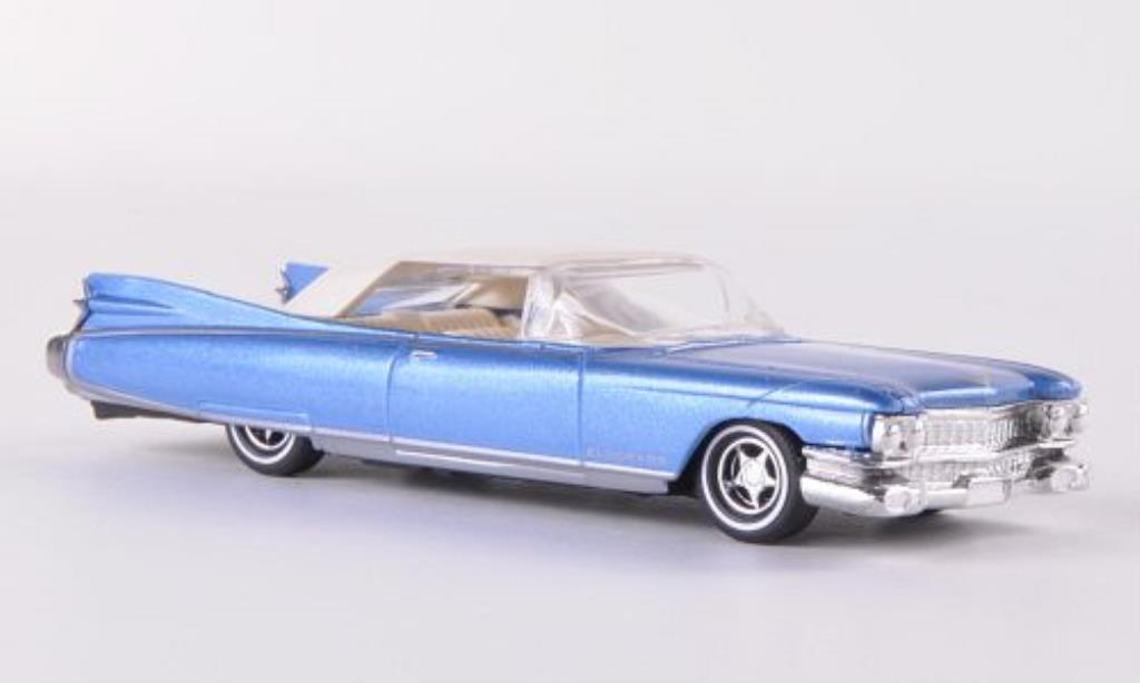 Cadillac Eldorado 1/87 Busch Convertible bleu 1959 modellino in miniatura