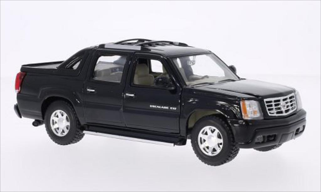 Cadillac Escalade 1/24 Welly EXT noire 2002 miniature