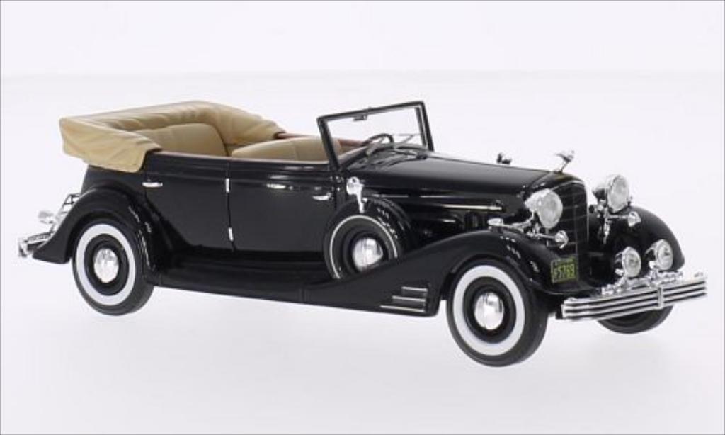 Cadillac Fleetwood 1/43 Neo Allweather Phaeton noire 1933 miniature
