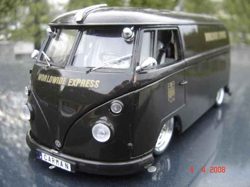 Volkswagen Combi 1/18 Solido ups miniature