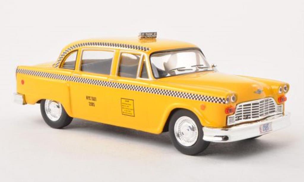 Checker Taxi 1/43 Greenlight Cab NYC Friends 1977 miniature