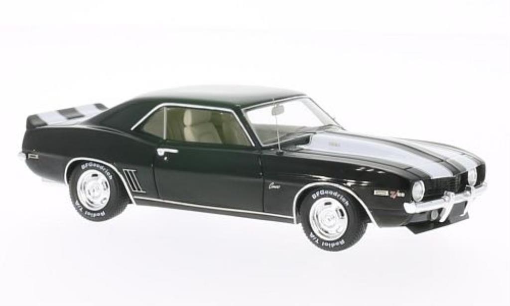 Chevrolet Camaro Z28 1/43 Spark black mit whiteen Streifen 1969 diecast model cars