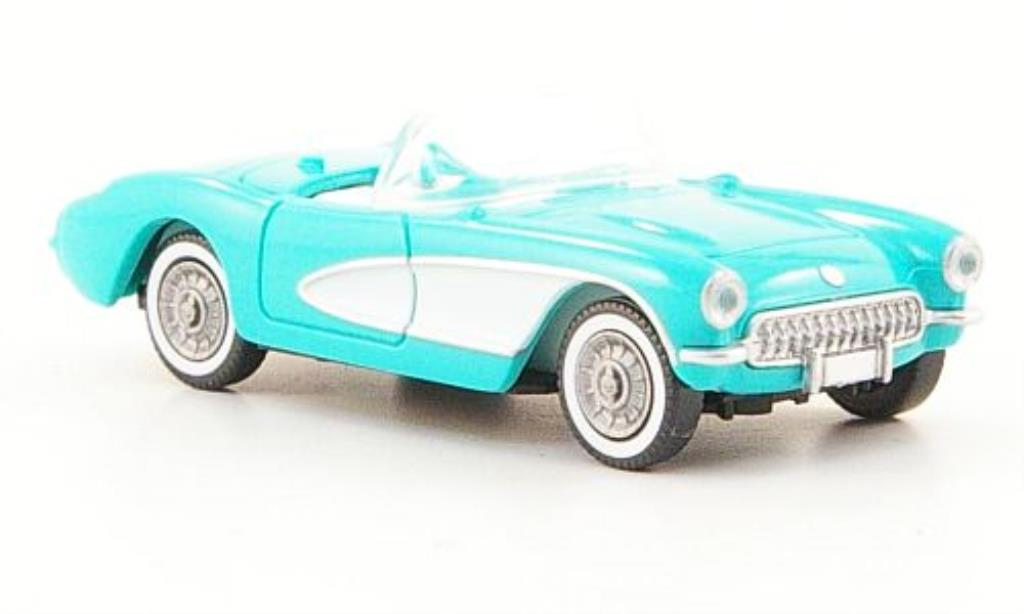 Chevrolet Corvette C1 1/87 Wiking  turkis diecast model cars